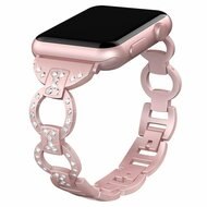Bling Diamond Chain Watch Band for Apple Watch 40mm / 38mm - Rose Gold