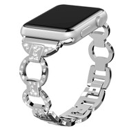 Bling Diamond Chain Watch Band for Apple Watch 40mm / 38mm - Silver