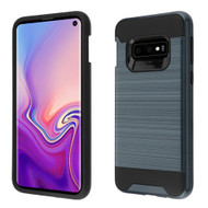 Brushed Coated Hybrid Armor Case for Samsung Galaxy S10e - Ink Blue