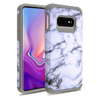 Hybrid Multi-Layer Armor Case for Samsung Galaxy S10e - Marble White