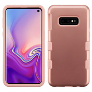 Military Grade Certified TUFF Hybrid Armor Case for Samsung Galaxy S10e - Rose Gold