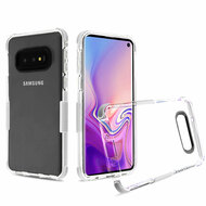 Transparent Protective Bumper Case for Samsung Galaxy S10e - White