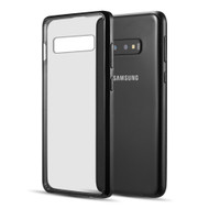 Polymer Transparent Hybrid Case for Samsung Galaxy S10e - Black