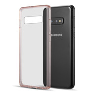 Polymer Transparent Hybrid Case for Samsung Galaxy S10e - Pink