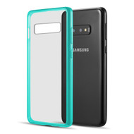 Polymer Transparent Hybrid Case for Samsung Galaxy S10e - Teal