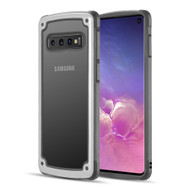 Tough Shield Snap-on Transparent Case for Samsung Galaxy S10 - White