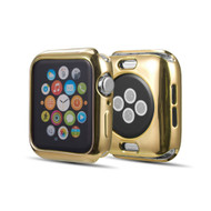 Electroplate Color Bumper Case for Apple Watch 44mm Series 4 - Gold