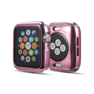 Electroplate Color Bumper Case for Apple Watch 40mm Series 4 - Rose Gold