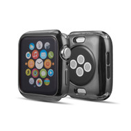 Electroplate Color Bumper Case for Apple Watch 44mm Series 4 - Black