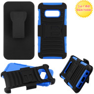 Advanced Armor Hybrid Kickstand Case with Holster for Samsung Galaxy S10e - Blue