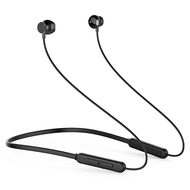 Bluetooth V4.2 Wireless Sweat Resistant Sports Magnet Attraction Headphones - Black
