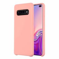 Liquid Silicone Protective Case for Samsung Galaxy S10 Plus - Pink