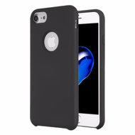 Liquid Silicone Protective Case for iPhone 8 / 7 / 6S / 6 - Black