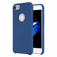 Liquid Silicone Protective Case for iPhone 8 / 7 / 6S / 6 - Blue