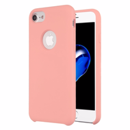 Liquid Silicone Protective Case for iPhone 8 / 7 / 6S / 6 - Pink