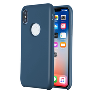 *Sale* Liquid Silicone Protective Case for iPhone XS / X - Blue