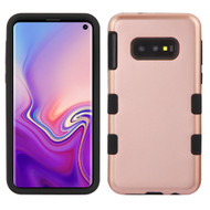 Military Grade Certified TUFF Hybrid Armor Case for Samsung Galaxy S10e - Rose Gold 059