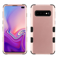 Military Grade Certified TUFF Hybrid Armor Case for Samsung Galaxy S10 Plus - Rose Gold
