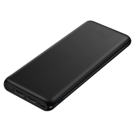 *Sale* Portable 20000mAh Power Bank Dual USB Battery Pack - Black