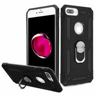 Armor Ring Finger Loop Hybrid Case for iPhone 8 Plus / 7 Plus / 6S Plus / 6 Plus - Black