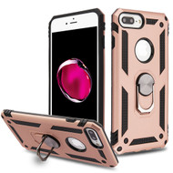 Armor Ring Finger Loop Hybrid Case for iPhone 8 Plus / 7 Plus / 6S Plus / 6 Plus - Rose Gold