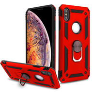 *Sale* Armor Ring Finger Loop Hybrid Case for iPhone XS Max - Red