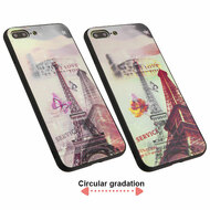 3D Stereograph Hybrid Case for iPhone 8 Plus / 7 Plus - Eiffel Tower