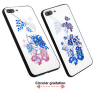 *Sale* 3D Stereograph Hybrid Case for iPhone 8 Plus / 7 Plus - Flowers
