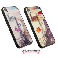 3D Stereograph Hybrid Case for iPhone XR - Eiffel Tower