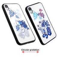 3D Stereograph Hybrid Case for iPhone XR - Flowers
