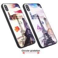 3D Stereograph Hybrid Case for iPhone XS Max - Eiffel Tower