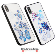 3D Stereograph Hybrid Case for iPhone XS Max - Flowers