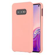 Liquid Silicone Protective Case for Samsung Galaxy S10e - Pink