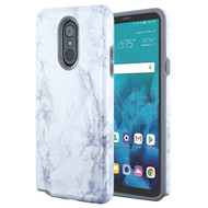 *Sale* Fuse Slim Armor Hybrid Case for LG Stylo 4 / Stylo 4 Plus - Marble White