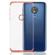 *Sale* Klarion Crystal Clear Tough Case for Motorola Moto G7 Power / G7 Supra - Rose Gold