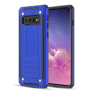 *Sale* Rugged Armor Shock Absorbent Case for Samsung Galaxy S10 - Blue