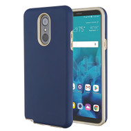 *Sale* Fuse Slim Armor Hybrid Case for LG Stylo 4 / Stylo 4 Plus - Navy Blue Gold