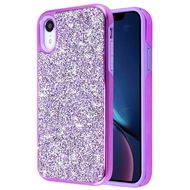 Desire Mosaic Crystal Hybrid Case for iPhone XR - Purple