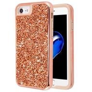 *Sale* Desire Mosaic Crystal Hybrid Case for iPhone 8 / 7 / 6S / 6 - Rose Gold