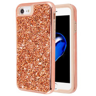 Desire Mosaic Crystal Hybrid Case for iPhone 8 / 7 / 6S / 6 - Rose Gold