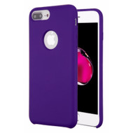 Liquid Silicone Protective Case for iPhone 8 Plus / 7 Plus / 6S Plus / 6 Plus - Purple