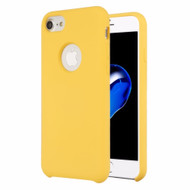 Liquid Silicone Protective Case for iPhone 8 / 7 / 6S / 6 - Yellow