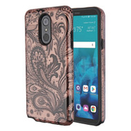 Fuse Slim Armor Hybrid Case for LG Stylo 4 / Stylo 4 Plus - Phoenix Flower