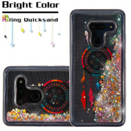 *Sale* Quicksand Glitter Transparent Case for LG G8 ThinQ - Dreamcatcher