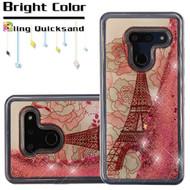 *Sale* Quicksand Glitter Transparent Case for LG G8 ThinQ - Eiffel Tower