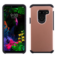 Hybrid Multi-Layer Armor Case for LG G8 ThinQ - Rose Gold