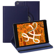 360 Degree Smart Rotating Leather Hybrid Case for iPad Mini 5 (5th Generation) - Navy Blue