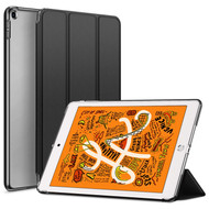Leather Folio Smart Hybrid Case for iPad Mini 5 (5th Generation) - Black