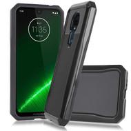 *Sale* Sentinel Tough Carbon Case for Motorola Moto G7 Power / G7 Supra - Black