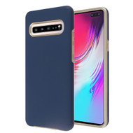 *Sale* Fuse Slim Armor Hybrid Case for Samsung Galaxy S10 5G - Navy Blue Gold